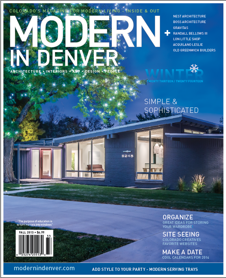 Modern in Denver Mag Cover