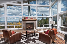 Modern Mountain ArchiteWinter Park, Colorado | Living Room + Fireplace