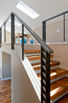 Modern Mountain Architecture, Winter Park, Colorado | Loft Stairs