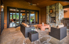 Aspen / Carbondale - Patio Folding Glass Doors #2