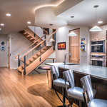 B+B House | Kitchen + Staircase